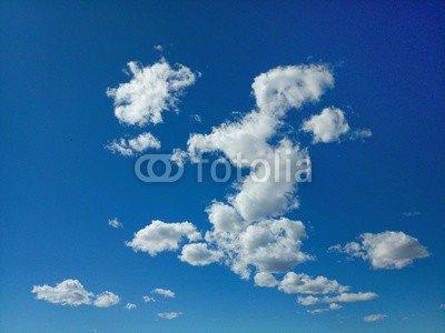 adrium Leinwand-Bild 120 x 90 cm:Nuvole in cielo, Bild auf Leinwand