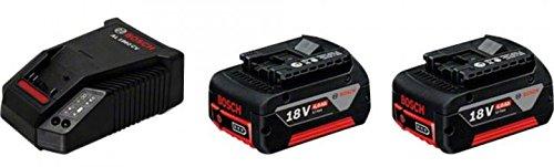 Image of Bosch Professional Akku-Starter-Set 2 x GBA 18 V 4,0 Ah M-C plus AL 1860 CV Schnellladegerät, 1 Stück, 1600A002F8