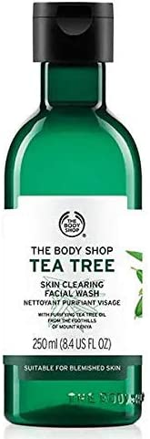 The Body Shop Facial Wash With Tea Tree Oil, 250 Ml