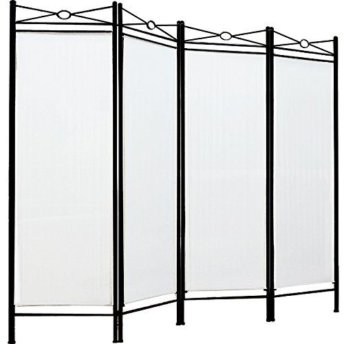 room-divider-screen-folding-paravent-4-panel-partition-wall-panel-privacy-furniture-white-cream
