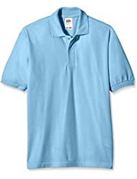 Fruit of the Loom Unisex Kids 65/35 Short Sleeve Polo Shirt