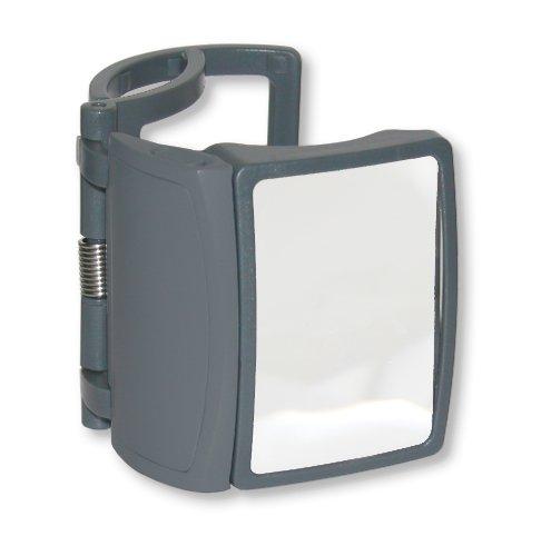 Carson MagRX Lupe Mit Klemmvorrichtung Und LED-Beleuchtungs-funktion Zur Vergrößerung Von Etiketten Auf Arzneibehältern - Vergrößerungsleistung 3x