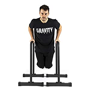 Gravity Fitness XL Pro Parallettes 2.0 – Neue 38-mm-Griffe – Dip-Bars für Calisthenics, Crossfit, Privater Gebrauch