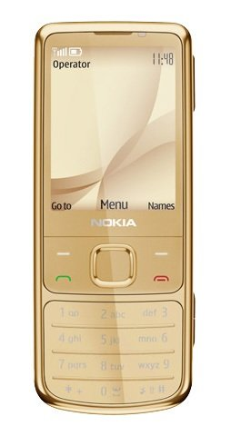 Nokia 6700 Feature Mobile - Golden