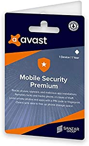 Avast Mobile Security - Premium (Android) (1 Device | 1 Year) (Activation Key Card)