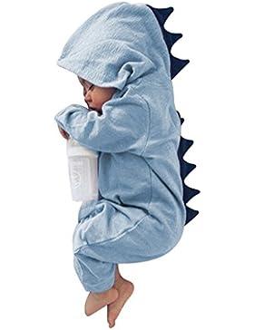 Originaltree Baby Boy Mädchen Overall mit Kapuze Strampler Dinosaurier Kostüm für Neugeborene Kleinkind Klettern...