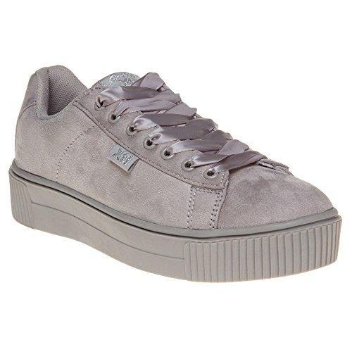XTI 046801, Sneaker Basse Donna Grigio (grigio)