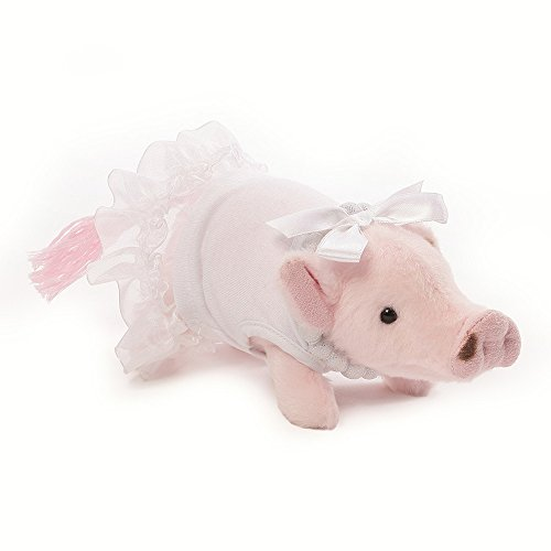 Gund Formal Prissy Mini Pig Stuffed Animal Plush, 6