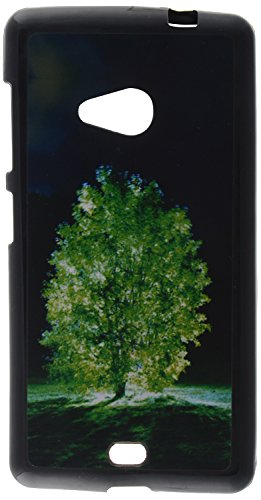 iCandy UV Printed Matte Finish Soft Back cover for Microsoft Lumia 535 - NIGHTTREE  available at amazon for Rs.99