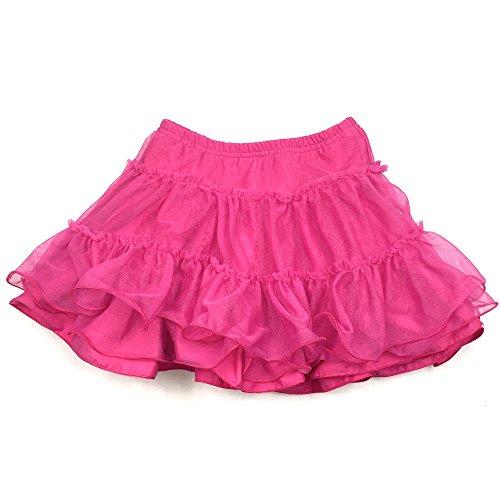 Pampolina Mädchen Tüll Rock, TuTu Rock, SUMMER FEELING 6684305 Pink (116, 2082 raspberry rose I pink)