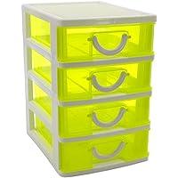Amazon.es: cajonera plastico organizador - Cajas y arcones ...
