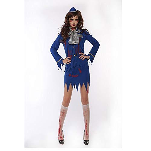 Zombie Seemann Kostüm - WYPANCZombie Kostüm blau Kostüm Horror Frau
