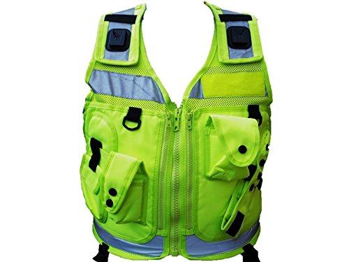 Hi-Vis Tactical Patrol Weste, Gelb
