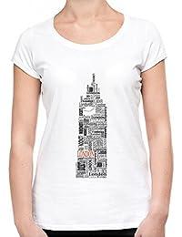 London Text Big Ben Camiseta Mujeres