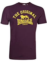 Lonsdale Herren Langarmshirt T-Shirt Regular Fit