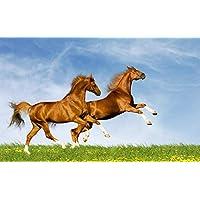 ClassicJP 1000Piece Jigsaw Puzzle Hobbit Brown Horse Animal Hobby Home Decoration Diy