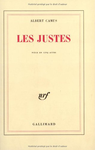 Les Justes par Albert Camus