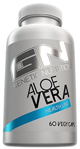 Antimykotische Behandlung Der Haut (GN Laboratories Aloe Vera Pflanzenextract Förderung Gesundheit Wohlbefinden 60 Vegy Caps)