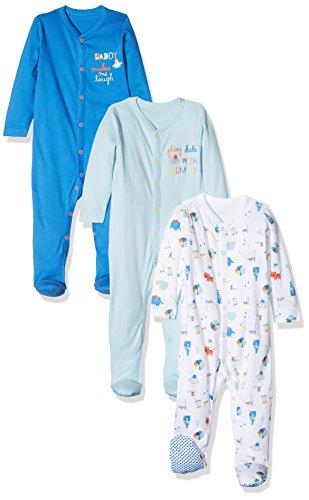 Mothercare Baby Boys' Mummy & Daddy Sleepsuit