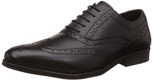 Bond Street by (Red Tape) Men's Black Formal Shoes - 9 UK/India (43 EU) (BSS0021)