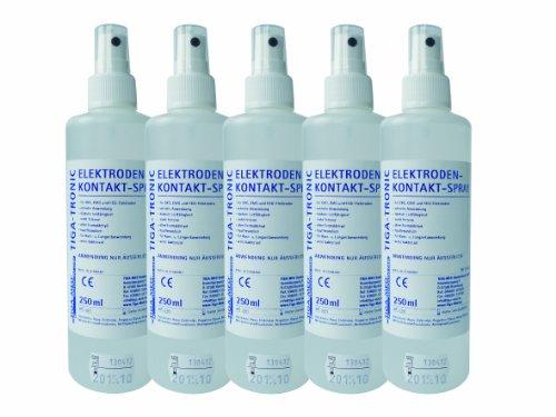 EKG Elektroden Kontaktspray 250ml 3er Set (= 3 Flaschen) Elektrodenspray TENS Kontakt SprayTiga-Med