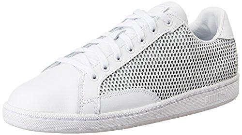 Puma Unisex-Erwachsene Match 74 Summer Shade Low-Top Weiß (puma white-puma black 02)