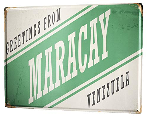 LEotiE SINCE 2004 Blechschild XXL Stadt Maracay Venezuela