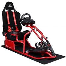 Speedmaster S Rojo - seda del cortocircuito Tela, Größe:OneSize;Farbe:Rot