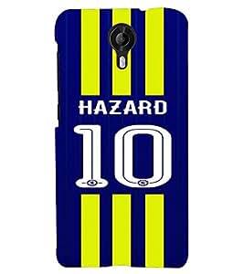PRINTVISA Football Hazard Case Cover for Micromax Canvas Nitro 3 E455::Nitro 3 4G