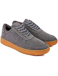 Xtreme Mens Black Laceup Sneaker Shoes Sneakers For Men (Black)