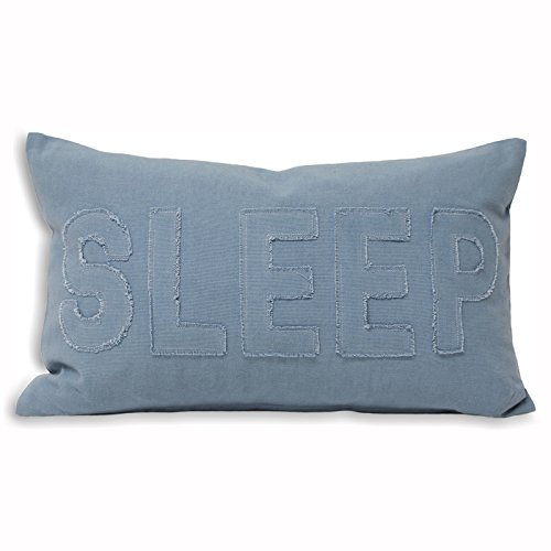 Riva Home Sleep Kissen Hülle (30x50cm) (Denim) (Kissen Denim Blue)