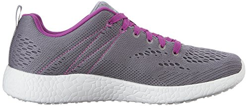 Skechers - Burst Adrenalin, Scarpe da corsa Donna Gray/Purple