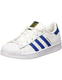 Adidas Hoops VS K - Zapatillas para Niño, Color Blanco/Rosa, Talla 36 2/3 adidas