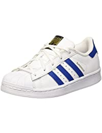 adidas Superstar Foundatio, Sneakers Basses Mixte Enfant, M