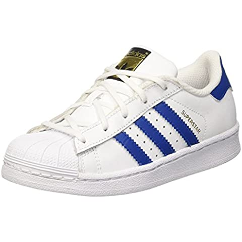 adidas Superstar Foundation, Scarpe da Basketball Unisex –