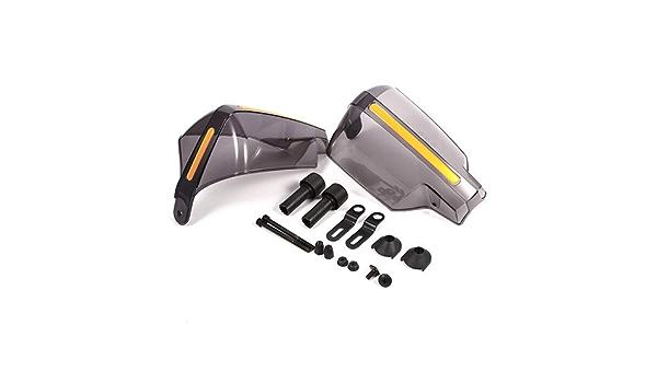Umisu Garde-Mains de Guidon de Moto Prot/ège-Mains Protection de Guidon Poign/ée D/éflecteur Universel Coupe-Vent Protecteur pour Moto Accessoire de D/écoration 1 Paire Transparent