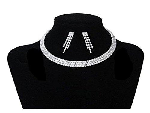 stillcool-elegante-joyeria-de-3-hileras-diamante-crystal-rhinestone-collar-gargantilla-de-plata-pend