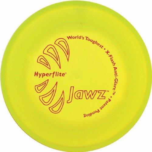 Hyperflite K10 Jawz Hunde Frisbee GELB X-FLASH ANTI GLANZ