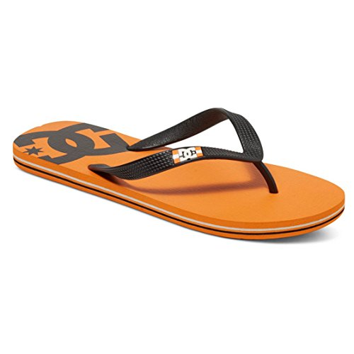 DC Shoes Spray - Flip-Flops - Tongs - Homme - US 12 / UK 11 / EU 46 - Orange