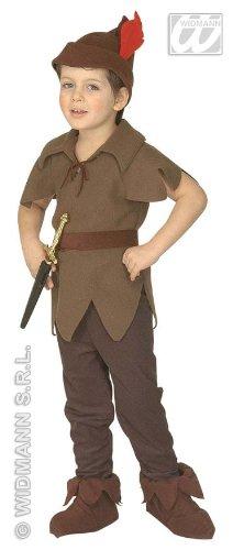 Wald-Wichtel Kostüm für (Kostüme Jungen Braun Stiefel)
