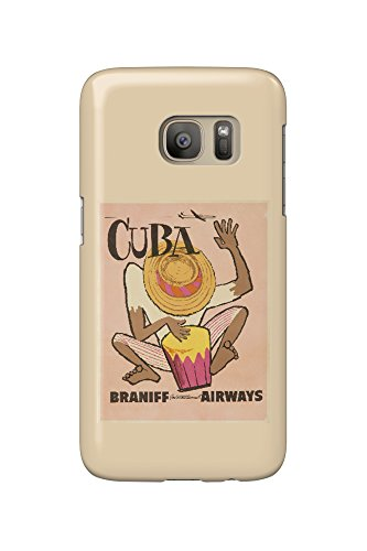 braniff-international-airways-cuba-c-1950-vintage-poster-galaxy-s7-cell-phone-case-slim-barely-there