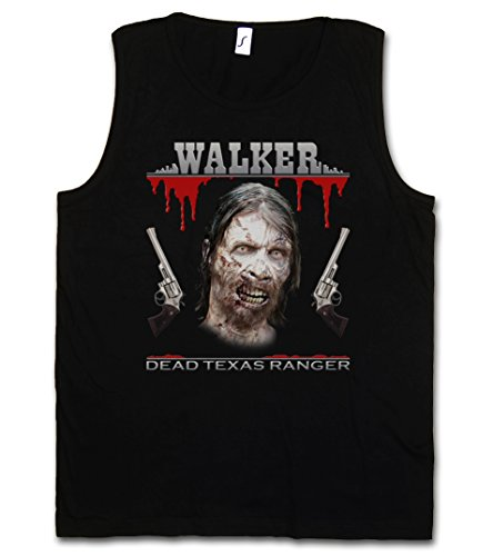 Urban Backwoods Dead Texas Ranger Vest Tank Top Muscle Shirt - Daryl Dixon The Walking Chuck Norris Dead Vest Tank Top Muscle Shirt Sizes S – 5XL