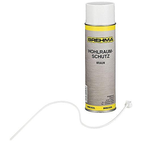 BREHMA Hohlraumschutz Hohlraumversiegelung Spray 500ml Wachs (Spray-auto-wachs)