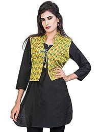 Banjara India Cotton Printed Jacket/Koti