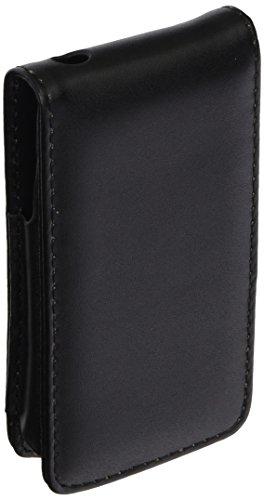 eForCity Leder-Klappetui für iPhone 4 / 4G / 4G, AT&T, Sprint, Version 16 GB / 32 GB / 64 GB, Schwarz