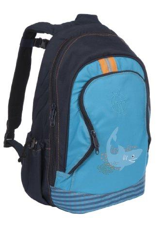 Lässig Mini Backpack Big Kinderrucksack Kindergartentasche,Shark ocean