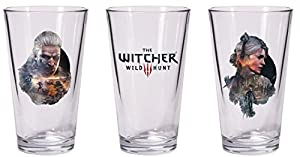Dark Horse Comics- The Whitcher Witcher Juego de 2 Vasos, Multicolor (NOV160113)