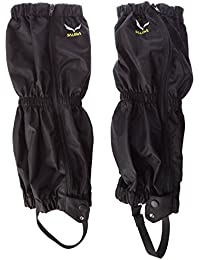 SALEWA Hiking Gaiter - Polainas para hombre, color negro, talla única