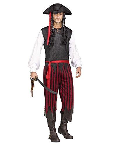 Blackhawk Piraten Kostüm für Fasching, Karneval & - Blackhawks Halloween-kostüme