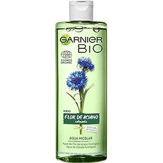 Garnier BIO Agua Micelar con Agua de Flor de Aciano y Cebada Ecológicas – 400 ml